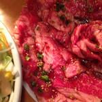 焼肉ざんまい - カルビ皿 2人前で華が咲く