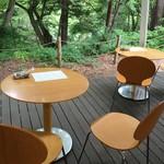 森のカフエKISEKI - 店舗テラス席