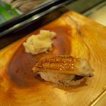 すしまみれ - 煮穴子 240円(税別)