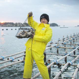★毎日・生産者直送、こだわりの牡蠣・宮城県松島から