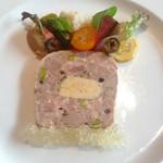 ル・プティ・ブドン - 前菜:鴨肉とフォワグラのテリーヌ