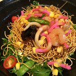 九州 熱中屋 - 長崎皿うどんサラダ