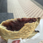 52146567 - 皮と餡子のバランス、食感、全てが好みです!