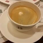 バケット - 最後はコーヒー