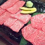 焼肉あかみうし - あかみうし6種盛(肩三角・友三角・カメノコ)【2016年2月】