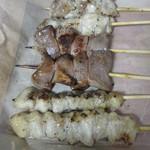 ハマケイ - ぼんじり、豚タン、モモ
