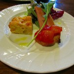 パスタ&ピザガーデン マジョラム - 前菜盛り合わせ
