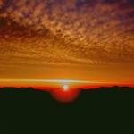 とみたメロンハウス - トマム雲海テラス  日の出