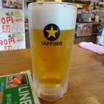 へそ - 生ビール(450円)