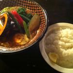 SOUP CURRY&HAMBURG 龍祈(TATSUKI) - 13種のベジタブルカリー
