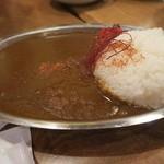 人形町駄菓子バー - 激辛カレー¥700