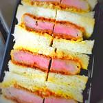 なおらい - ヘレカツサンドイッチ