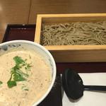 52156796 - くるみ湯葉豆腐のそば。