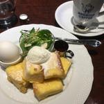 星乃珈琲店 - フレンチトーストモーニング、星乃ブレンド
