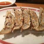 麺家 喜多楽 - 焼き餃子