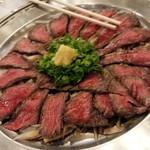 福寿山魚捨 - ローストビーフ