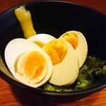鳥貴族 箕面店 - 煮玉子