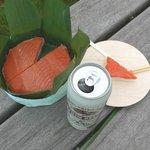 扇一 ます寿し本舗 - 鱒の寿し&ビール