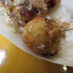 大阪で1番おいしいたこやきくん - 外はカリッ、中はトロ~リ