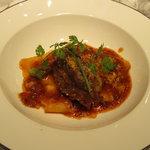 シャトン - 岩手県産牛ほほ肉煮込みパスタ