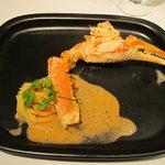 シャトン - ずわい蟹のパスタ