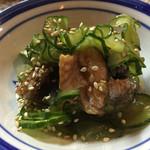 きみや - 鰻ときゅうりの酢の物