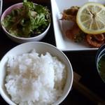 Cafe.C.C - 魚の香味野菜ランチ