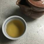 52161436 - マコモダケの葉を使った「まこも茶」いただきま〜す