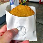 一印かまぼこ店 - 料理写真:かまぼこメンチ(2016年6月)
