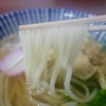 やまこうどん - [2016/06]うどん(380円)・柔らかな細麺