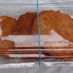 いこまい市場 - 料理写真:左:松坂牛コロッケ、中:メンチカツ、右:ハムカツ