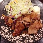 52164466 - 馬肉の生姜焼き(16-06)