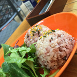 アロハテーブル ハワイアン カフェ アンド ダイナー - アロハmixプレートのご飯