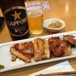 丸屋 - 料理写真:May, 2016 大山鶏タレ焼き600円