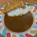カツハウスオーレ - 料理写真:カツカレー500円(税込)