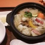 Denny's - 彩り野菜スープご飯