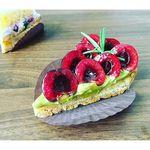 タルトアンドケーキ アリアド - アメリカンチェリーとピスタチオのタルト