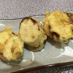 味香園 - 茄子と挽肉のはさみ揚げ