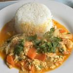 タイサラ タイ レストラン - 海老プーパッポンカリー