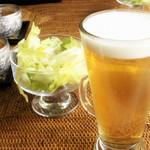 タイサラ タイ レストラン - ランチの生ビール 250円!