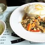 タイサラ タイ レストラン - ランチ=ガパオガイ 850円