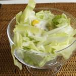 タイサラ タイ レストラン - ランチのセット・サラダ
