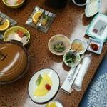 泉都 - 2度目に宿泊した時の朝食です。