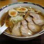 好日 - 叉焼煮玉子ラーメン 1,000円