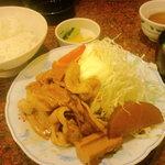手づくりの味 藍 - 生姜焼定食