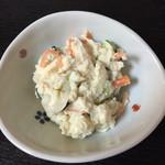 蕎澤 - おからのサラダ