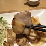 さち福やCAFE - 鶏肉炙り焼き