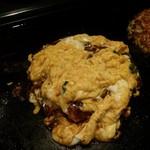 お好み焼き てまり - お好み焼き ふわトロ卵の黄金焼き