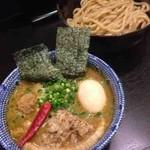 二代目 狼煙 - 特製かれつけ(カレーつけ麺)