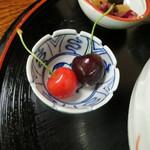 ふみくら茶屋 - さくらんぼ&チェリー